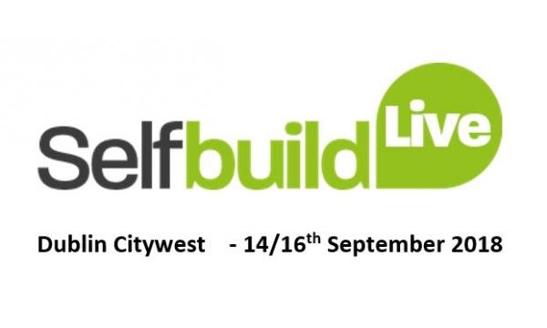 Self Build - Dublin Citywest - 14th / 15th / 16th September 2018